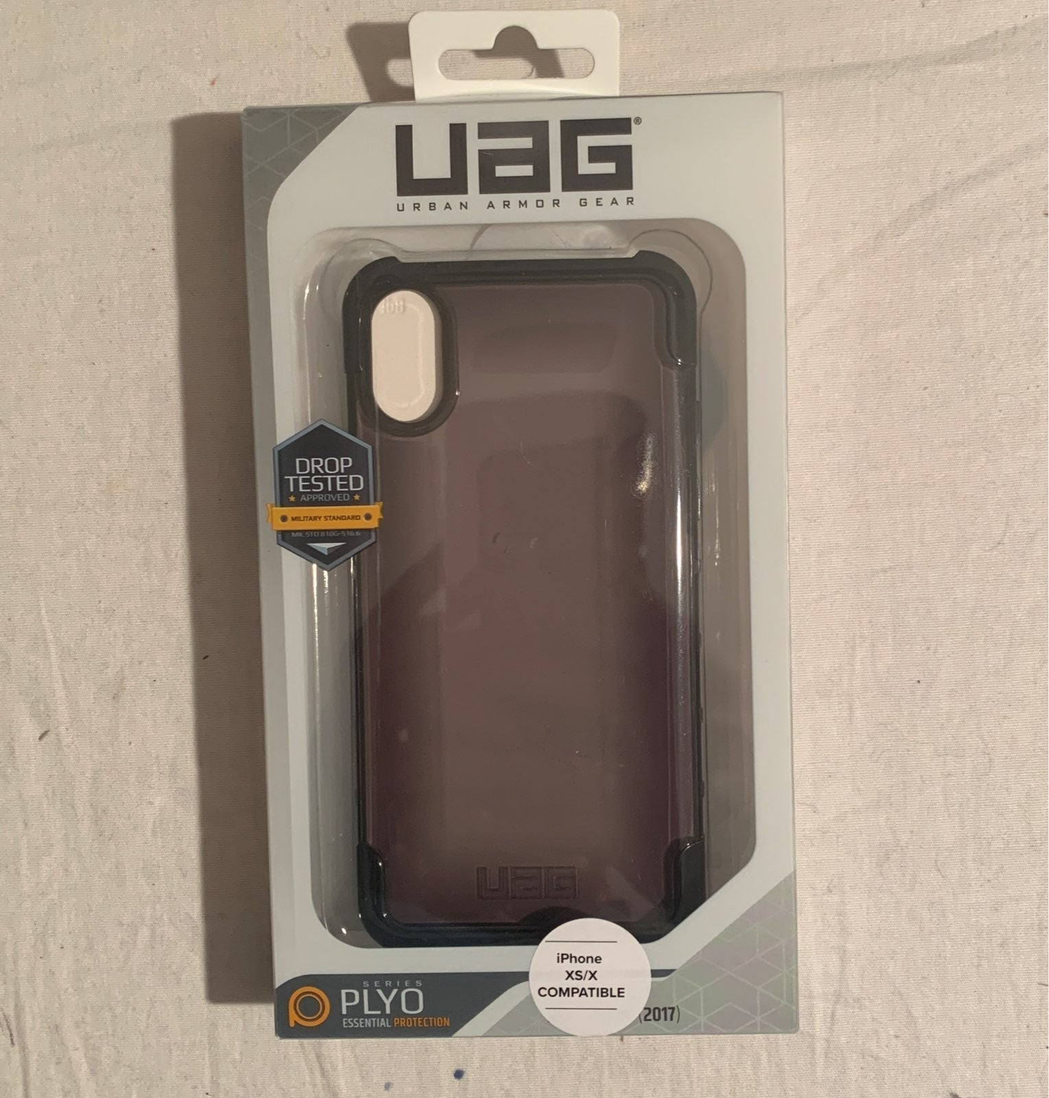 UAG Plyo Clear Smoke Case - iPhone X/XS