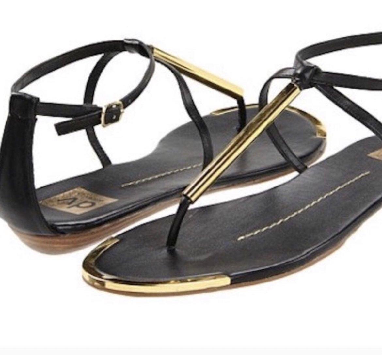 """DV by Dolce Vita"" Black Archer Sandals"