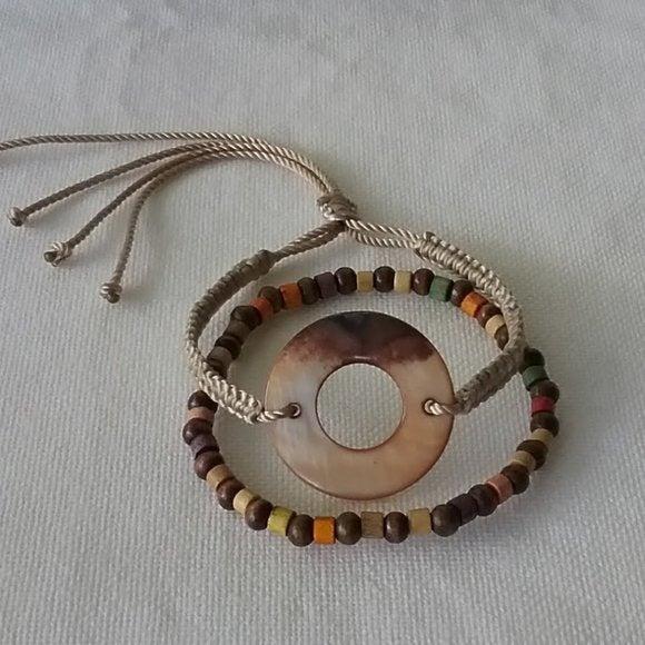Handmade Stylish Mismatched Bracelet Set