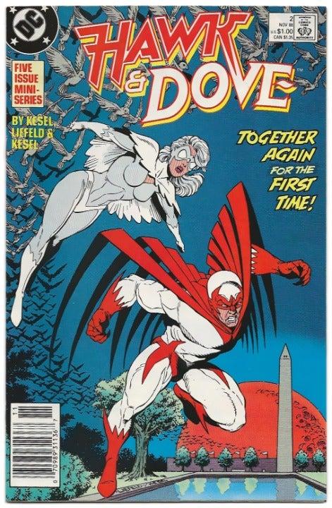 Hawk and Dove 3-Book Lot (1988)