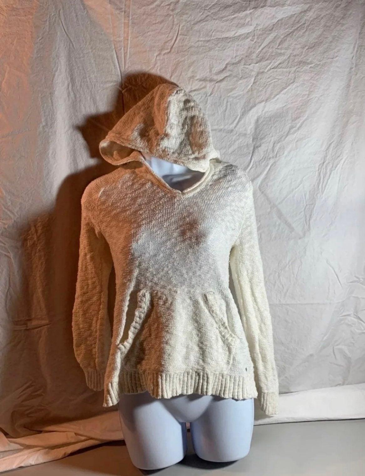 XS Eddie Bauer hooded sweater EUC