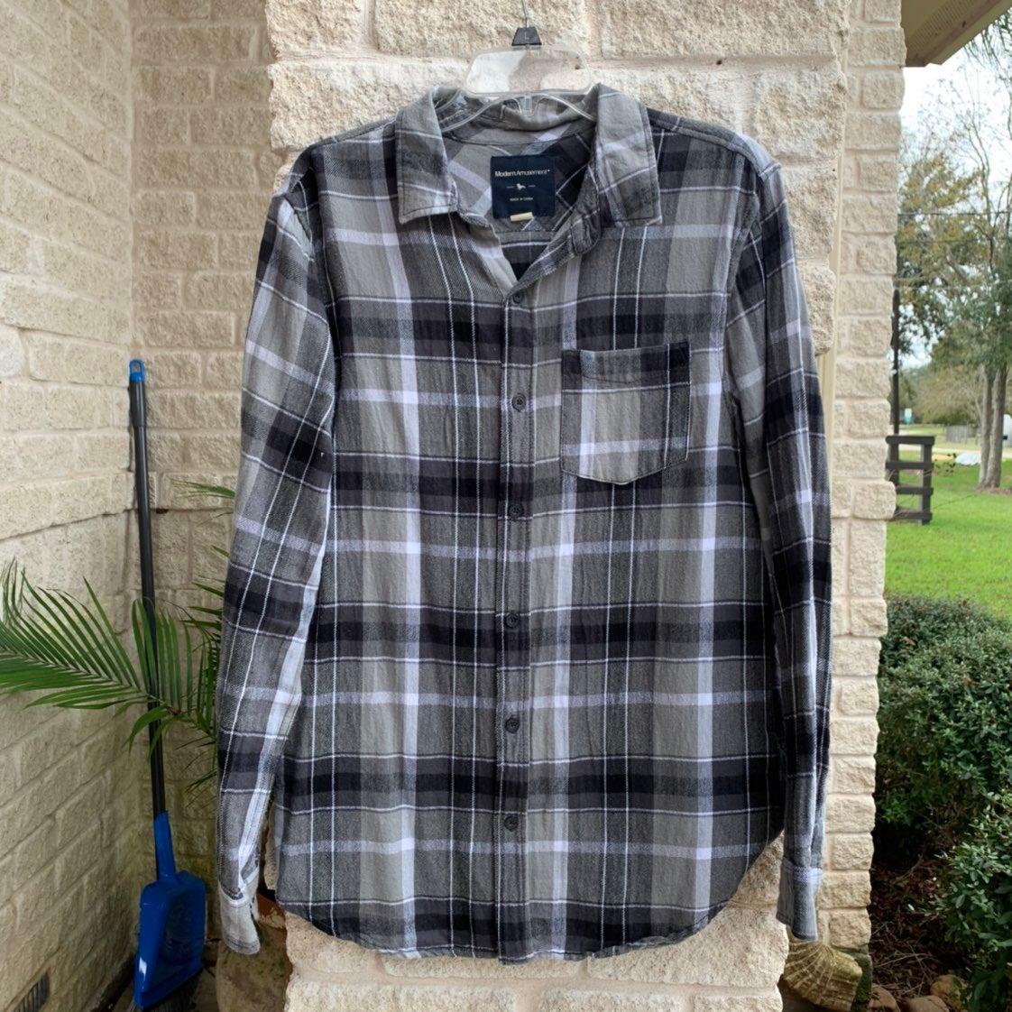Pacsun Modern Amusement Grey Flannel