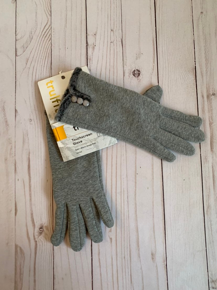 NWT Touch screen gloves OS