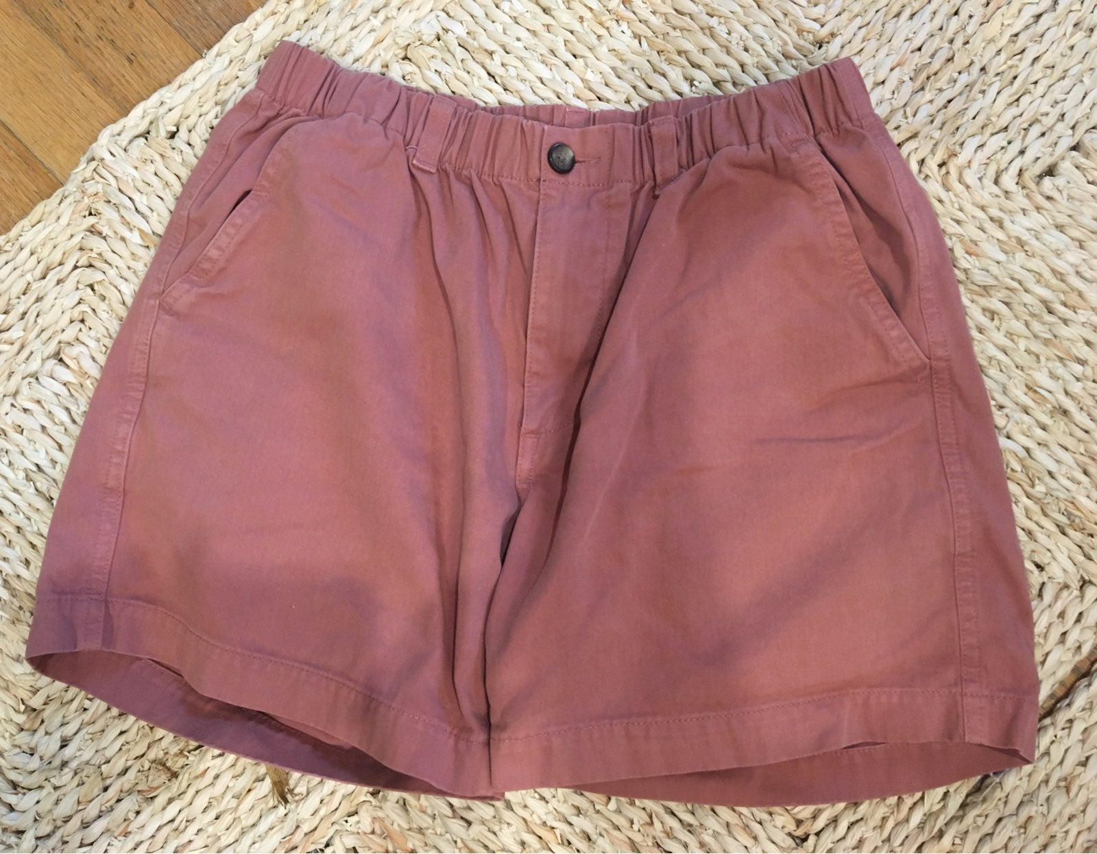 S Men's Red Clay Shorts