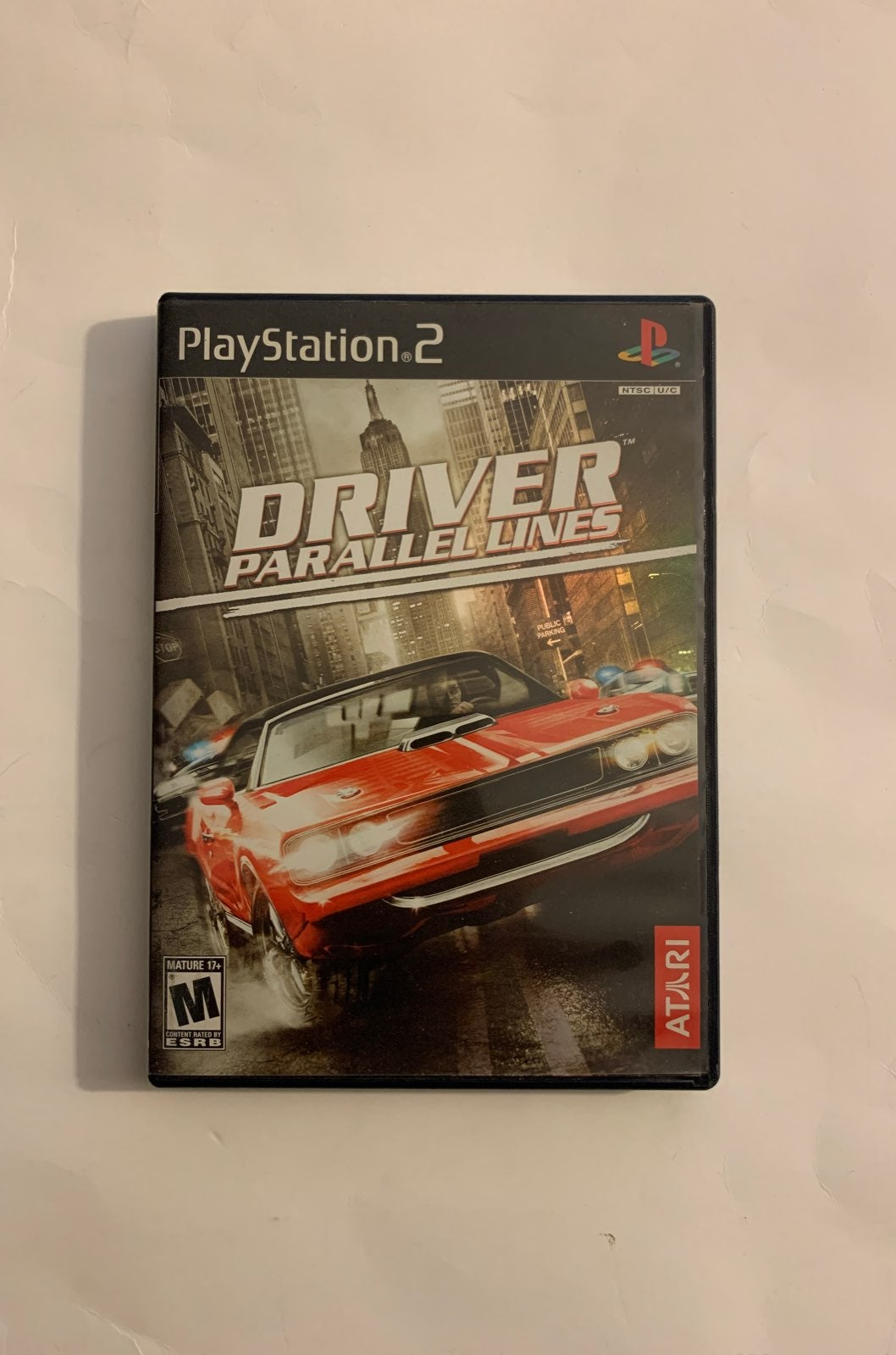 Driver Parallel Lines Playstation 2 PS2