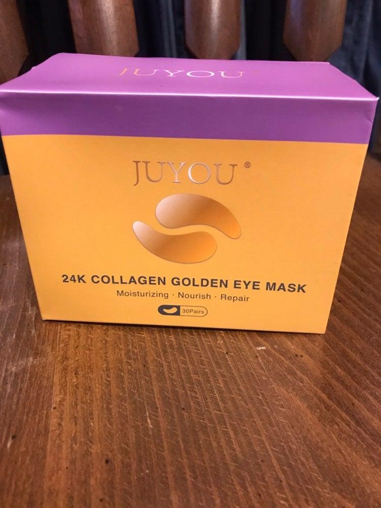 Juyou 24k collagen golden eye mask