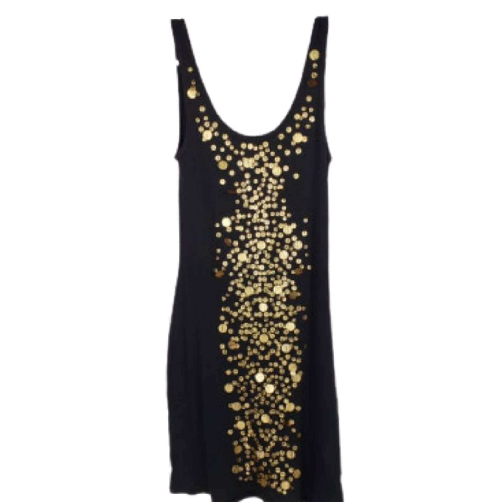 Moda International Tank Dress w Sequin