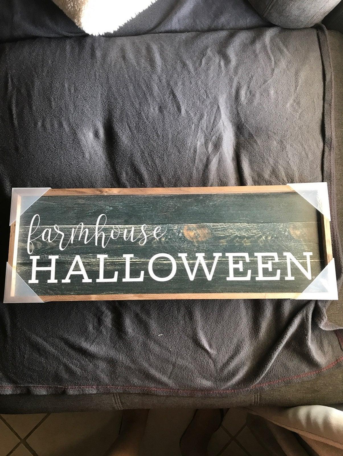 Farmhouse Halloween