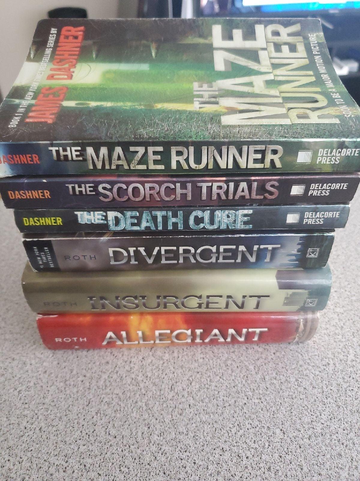 Divergent series and The Maze Runner Ser