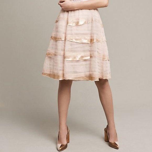 Anthro Tiny Deva Tiered Tulle Skirt