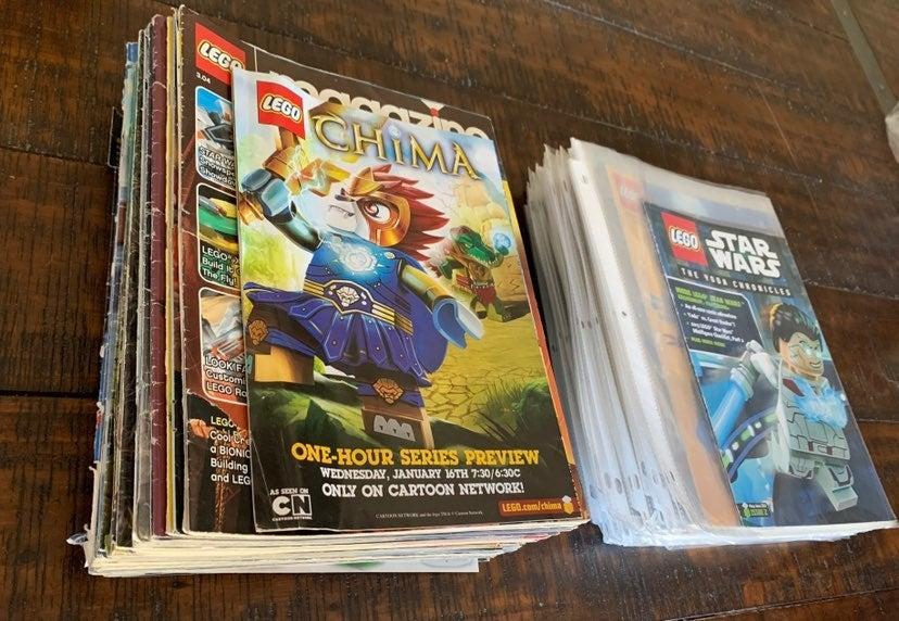 Vintage Lego Magazine Variety Lot
