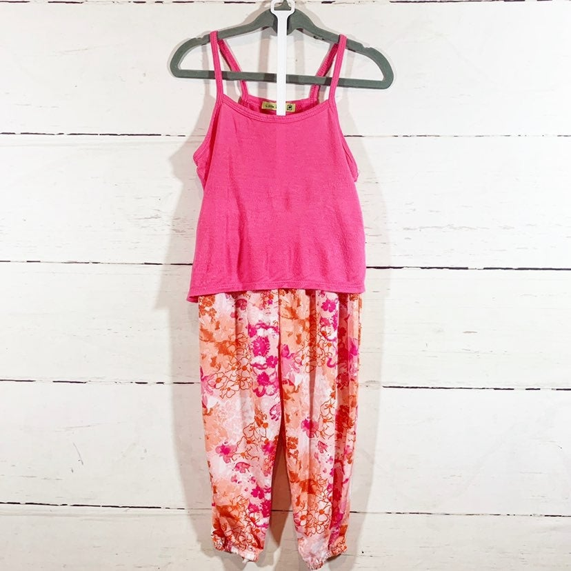 Amy Coe 18m Floral Jogger Outfit