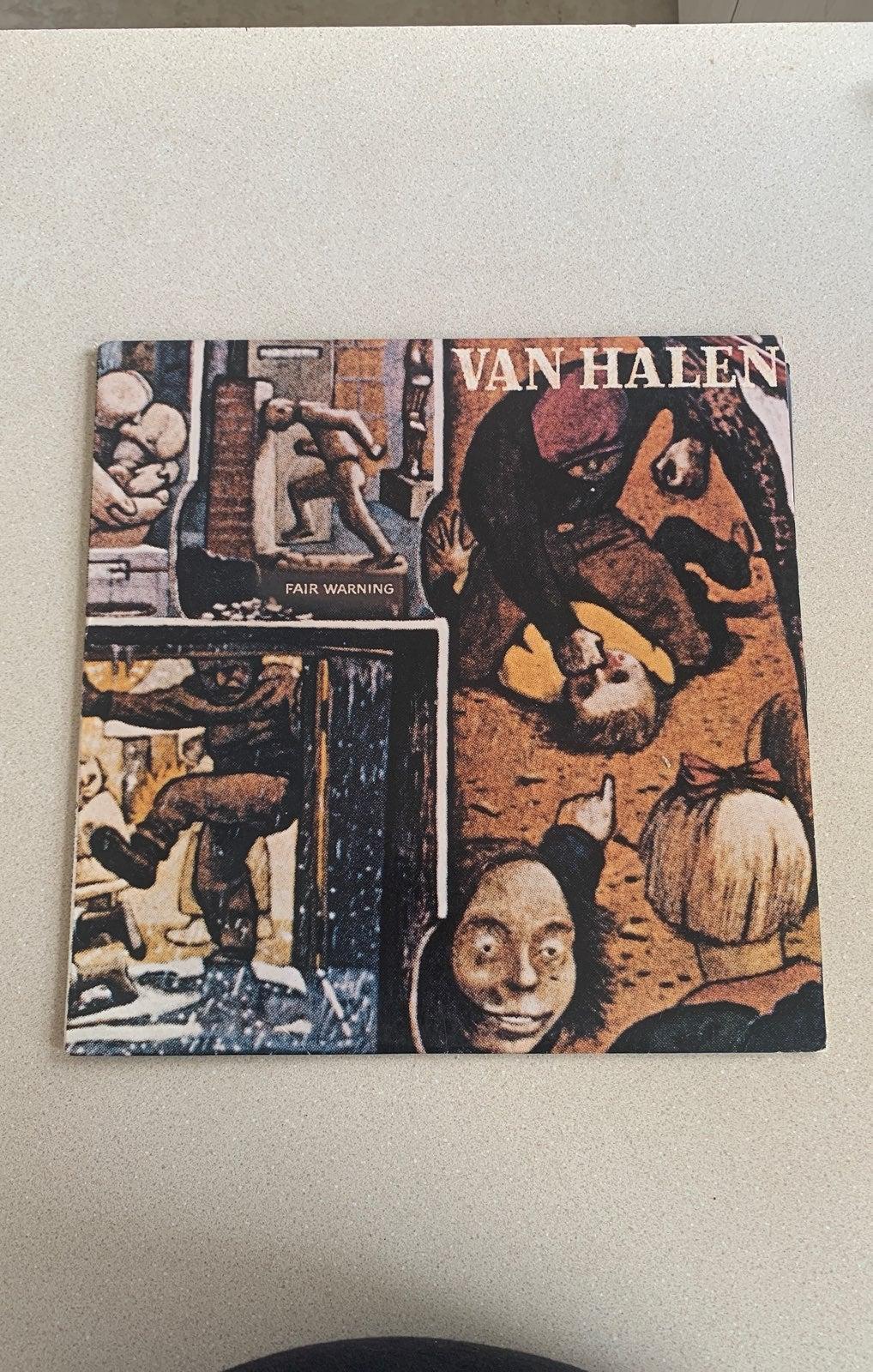 Van Halen Fair Warning  Used Vinyl LP