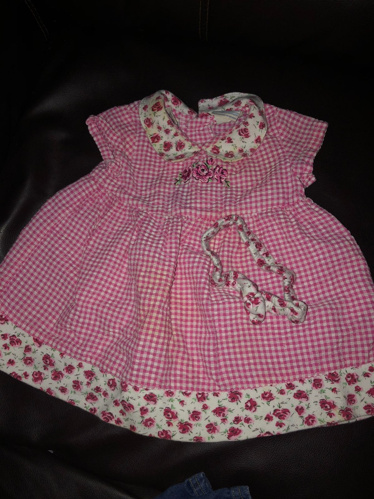 Basic edition 12 month girls dress with