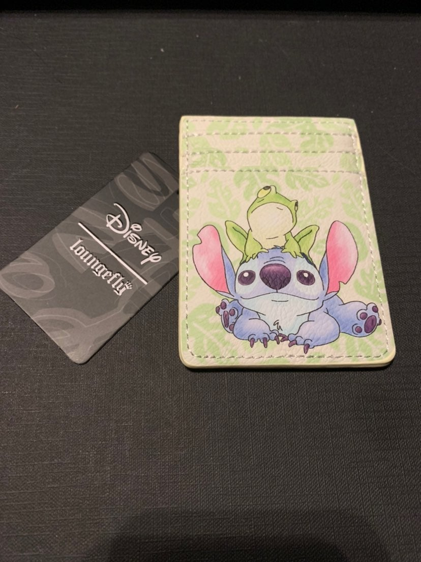 Loungefly Stitch & Frog Cardholder