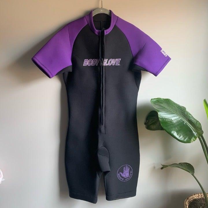 Retro Body Glove Short Wet Suit Size XL
