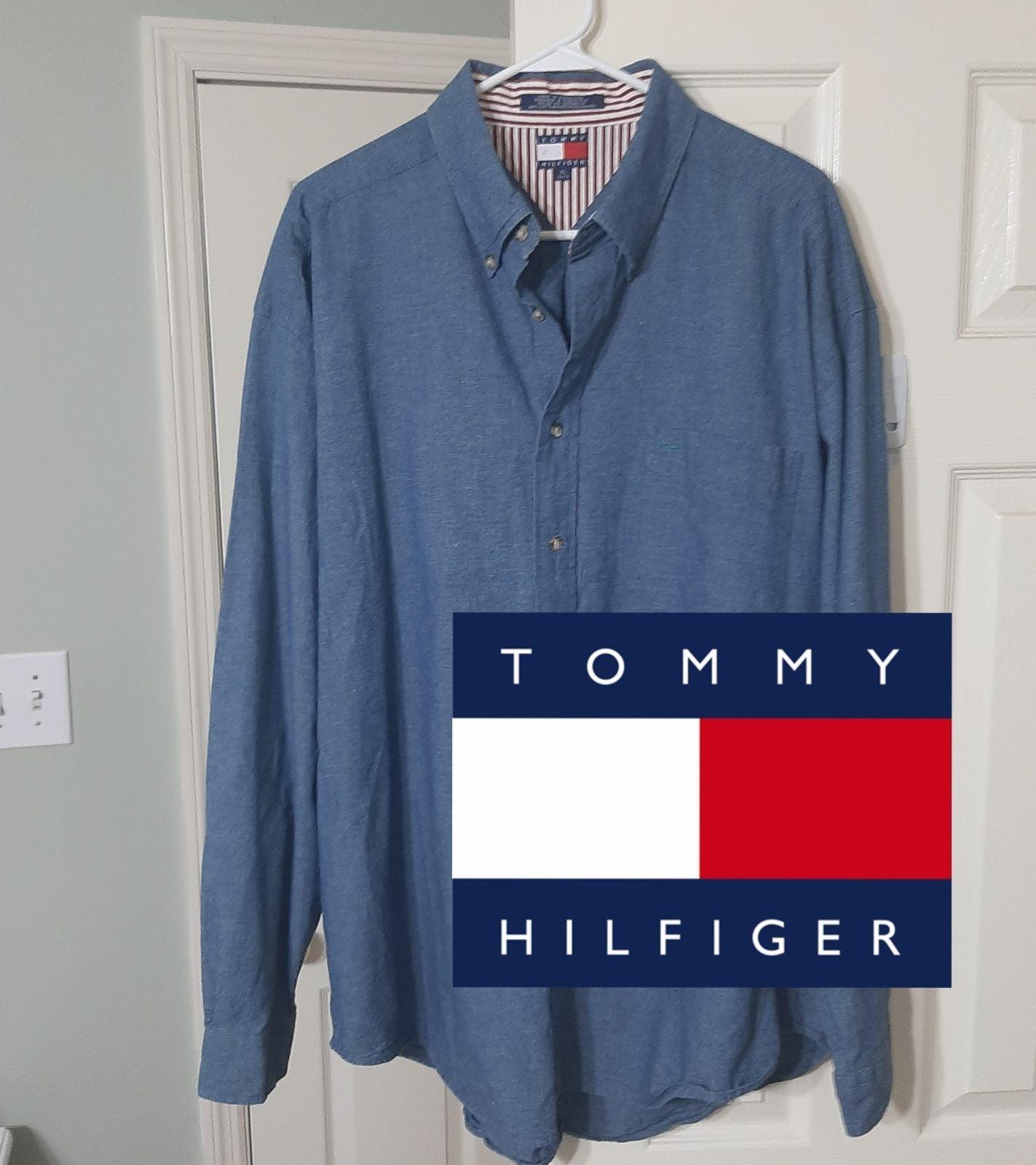 Vintage 90's Tommy Hilfiger Denim Shirt