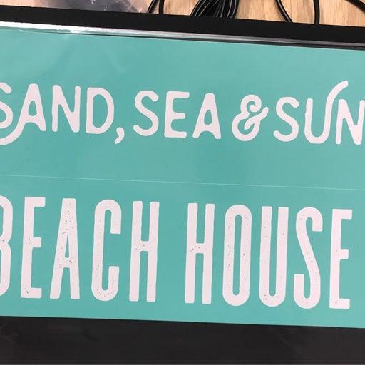 """Chalk Couture Transfer """"Sand, Sea, & Sun"""""""