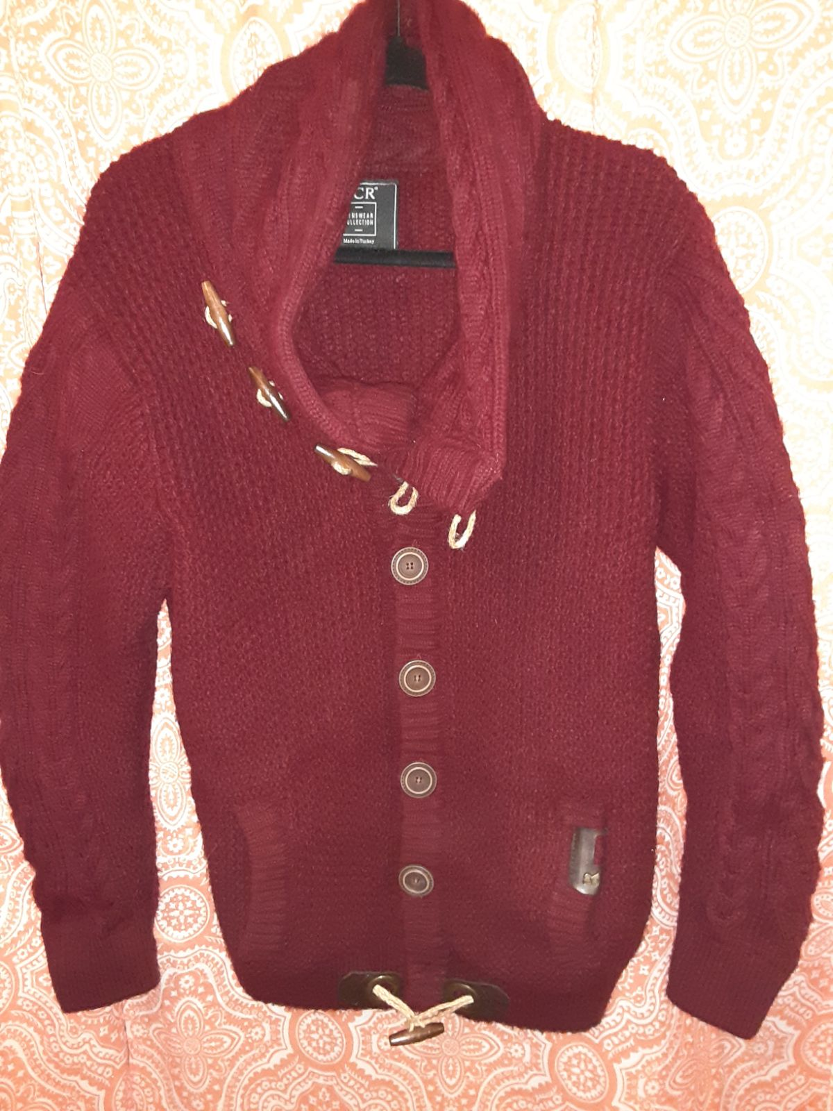 LCR mens sweater jacket