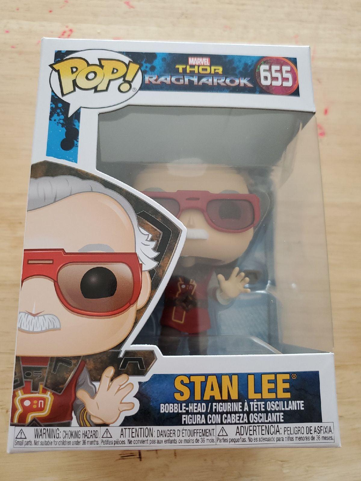 Funko Pop Thor Ragnarok Stan Lee