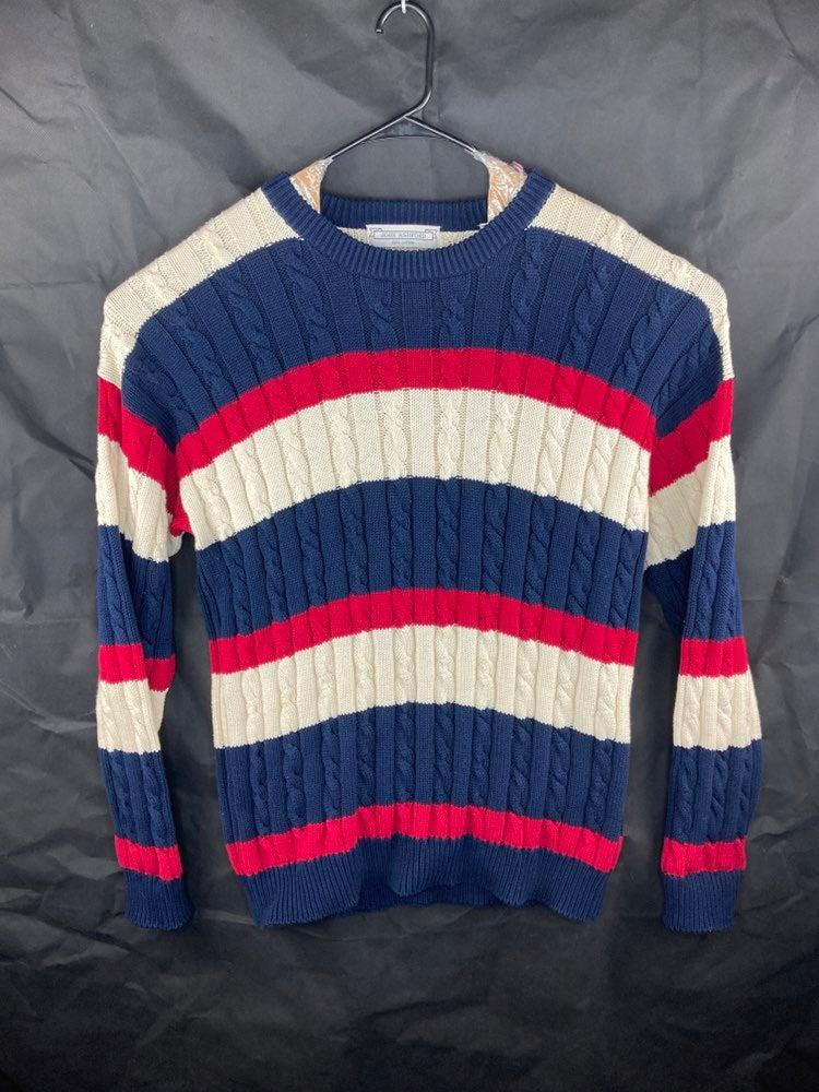 John Ashford Mens XL Sweater Striped