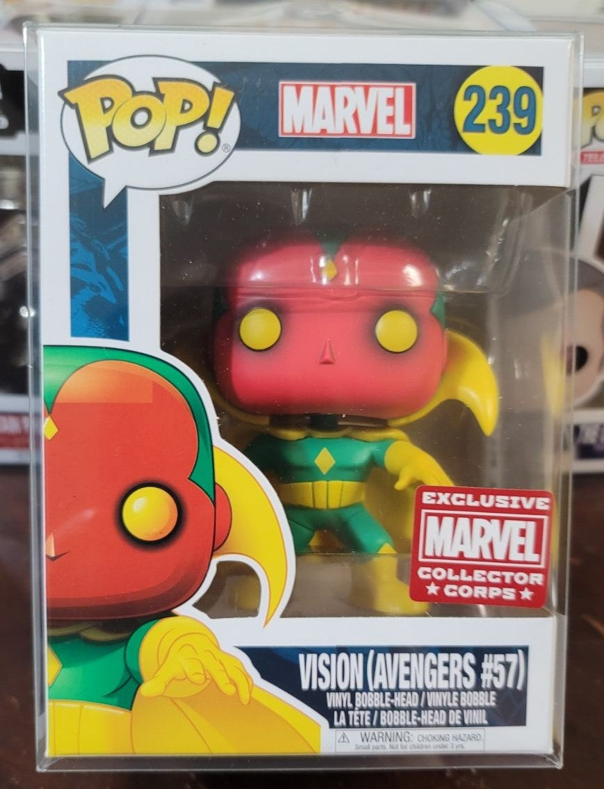 Funko Pop Marvel Collectors Corp Vision