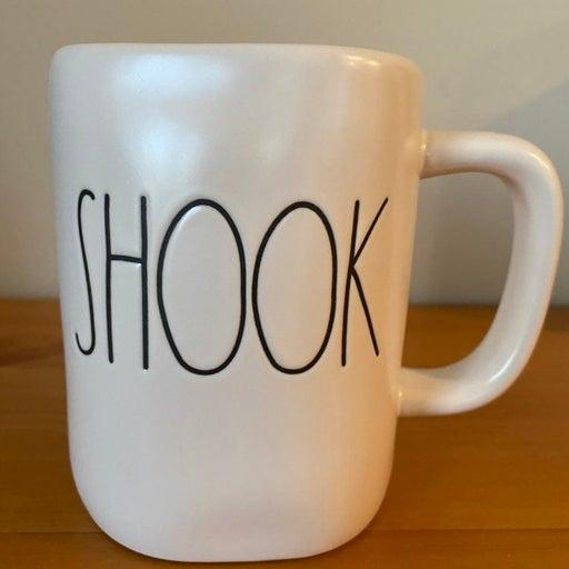 Rae Dunn SHOOK mug