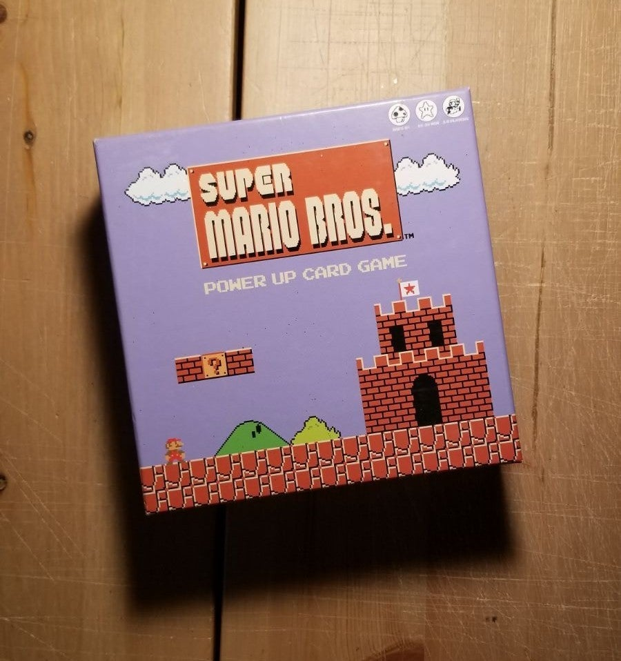 Nintendo Super Mario Bros Power Up Card
