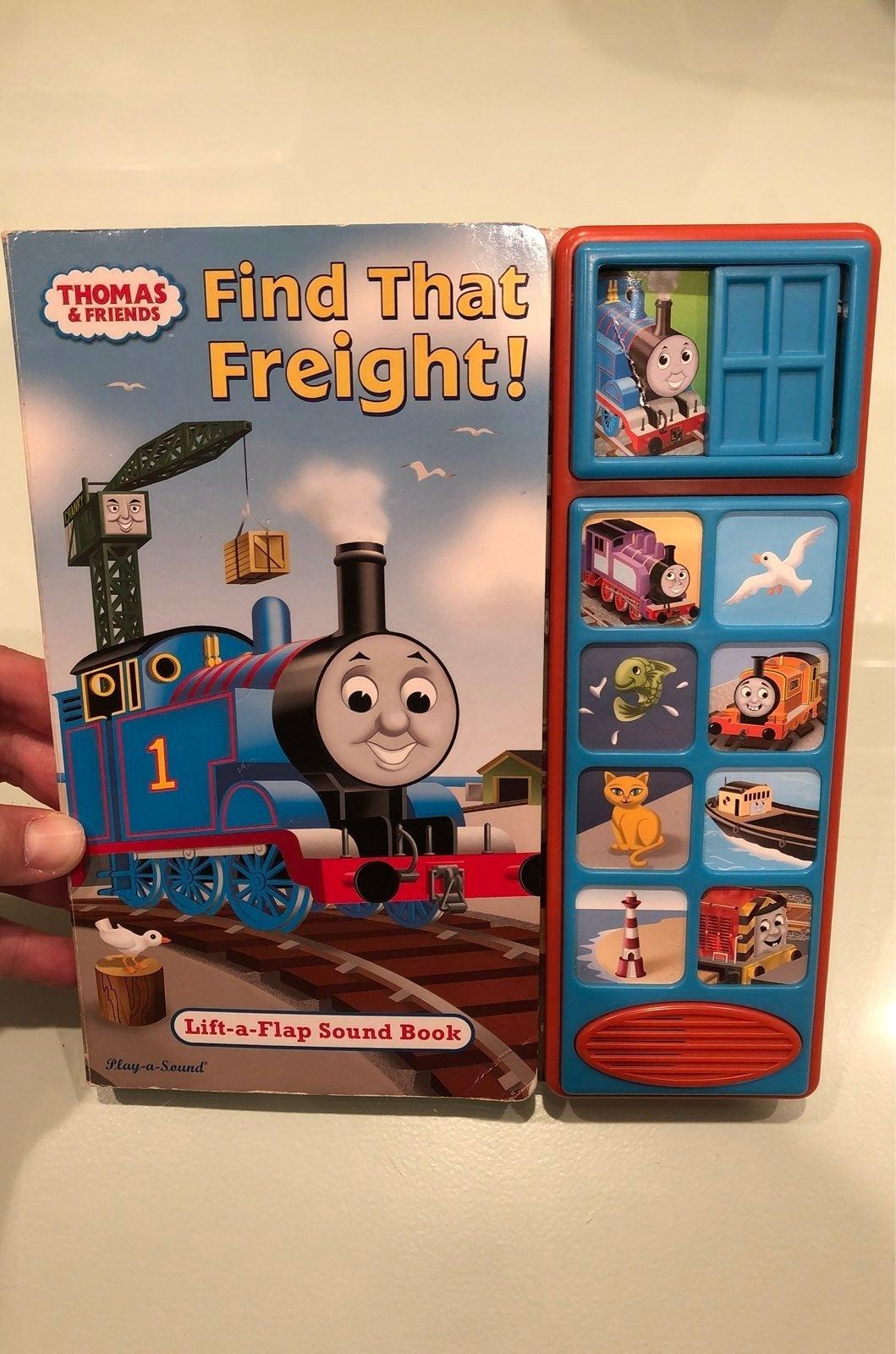 Thomas & Friends lift flap sound book