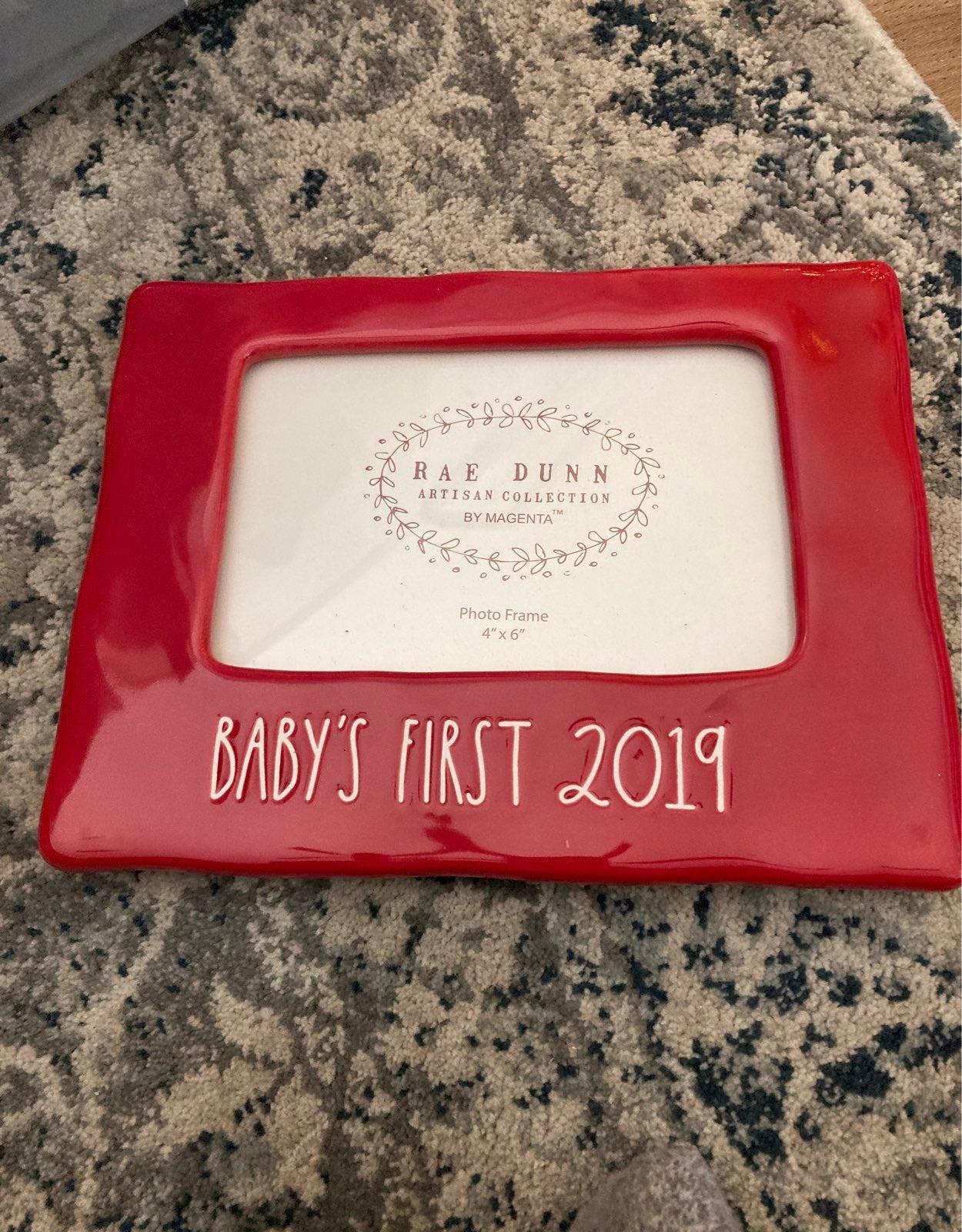 Rae Dunn Baby's First 2019