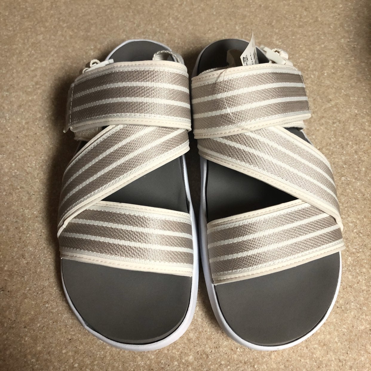 Adidas 90s sandals off white new