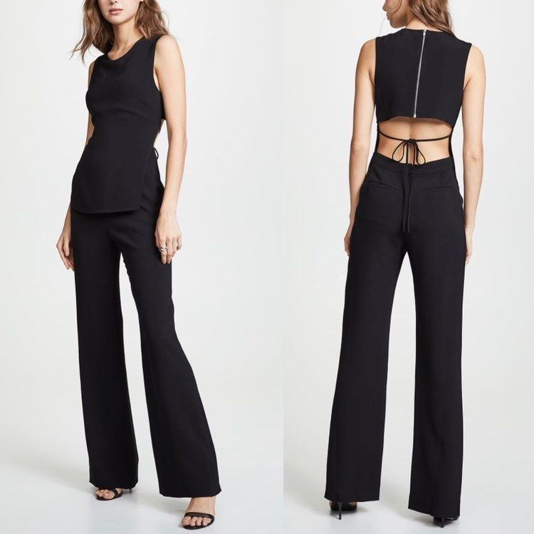 NEW A.L.C. Friedan Crepe Jumpsuit size 8