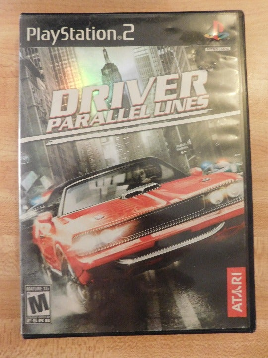 PS2 Game - Driver Parallel Lines