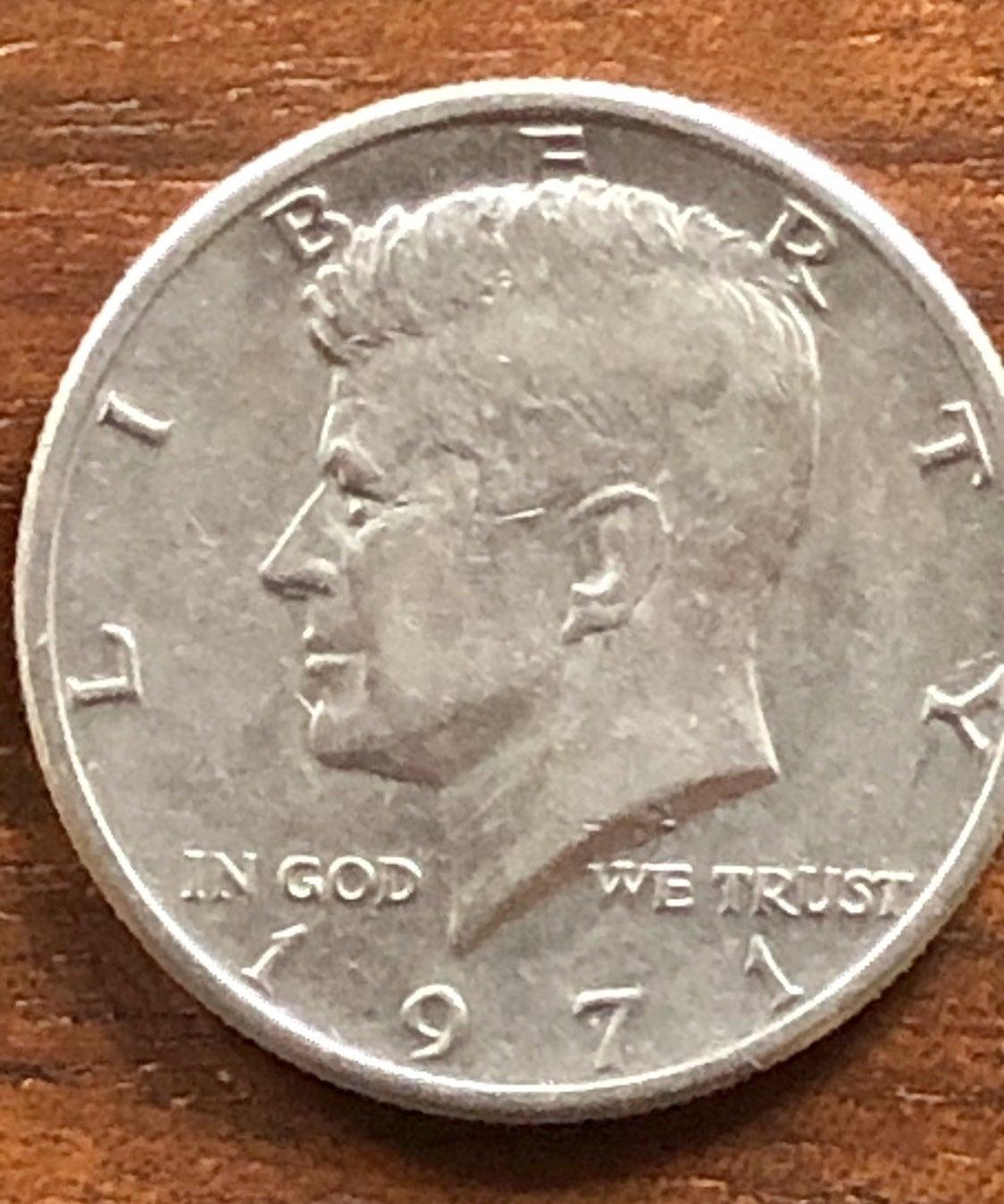 1971 Kennedy Half Dollars (5)