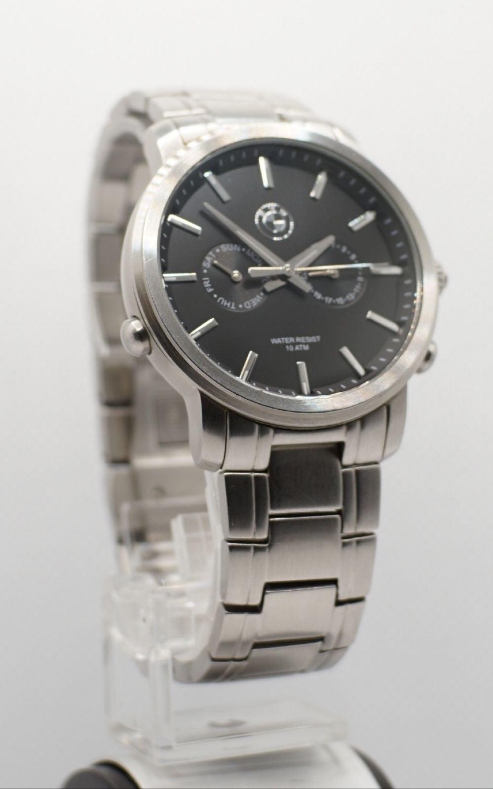 BMW Stainless steel wristwatch