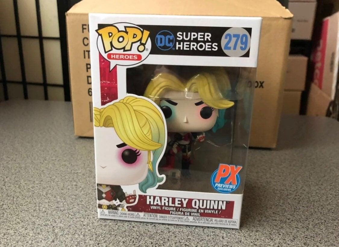 Funko Pop! Harley Quinn /w boombox PX
