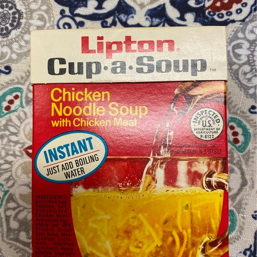 1972 Lipton Cup-a-Soup unopened!