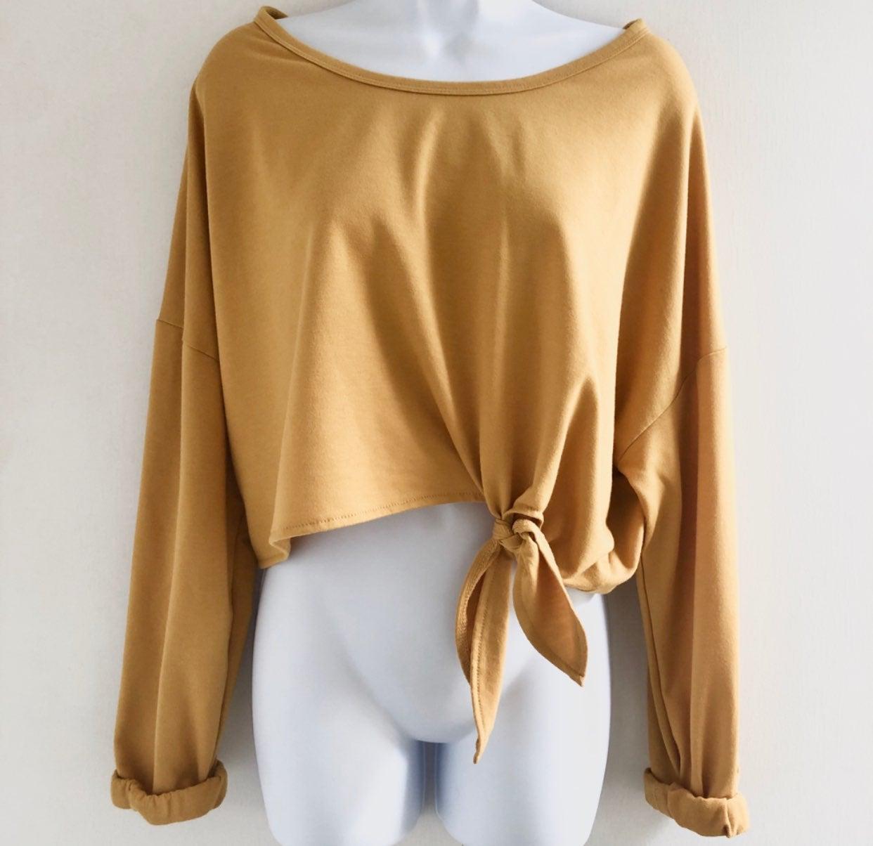 Streetwear Society • Boxy Tie Sweater