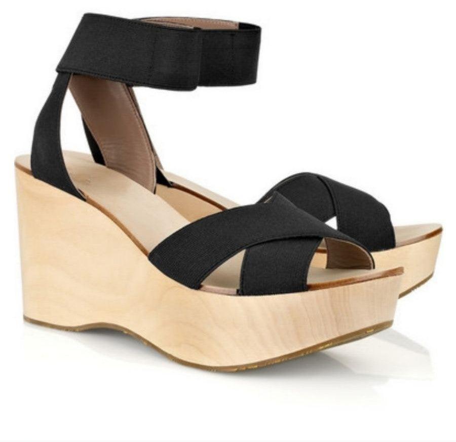 Belle Sigerson Morrison Wood Wedge shoes