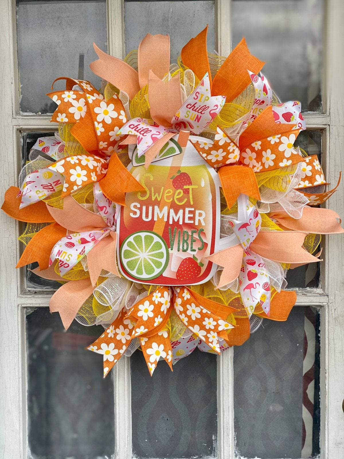 Sweet summertime summer wreath