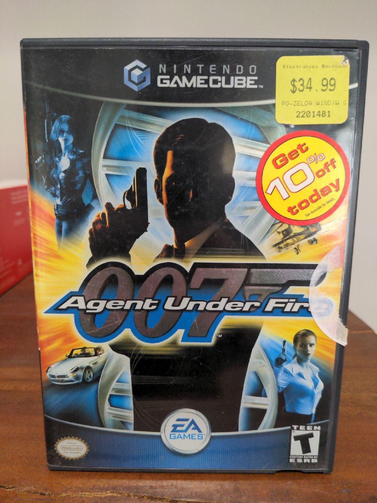 James Bond 007: Agent Under Fire on Nint