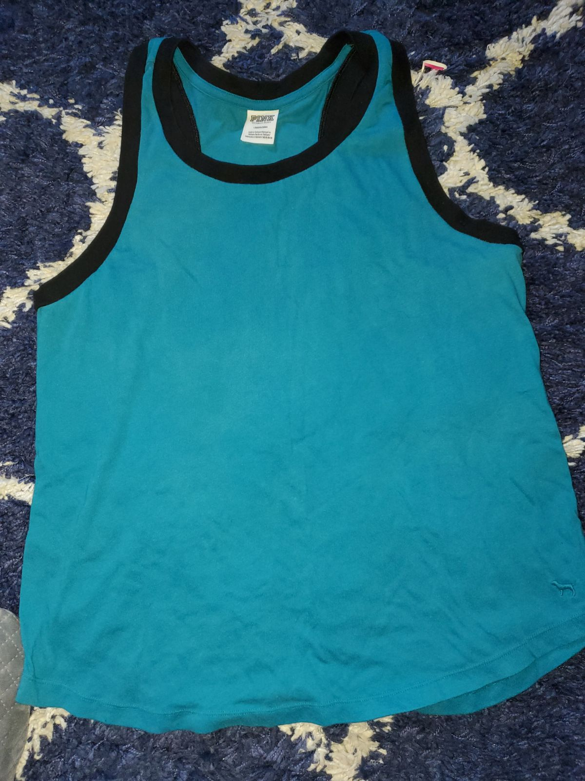 Large vs pink plain tank