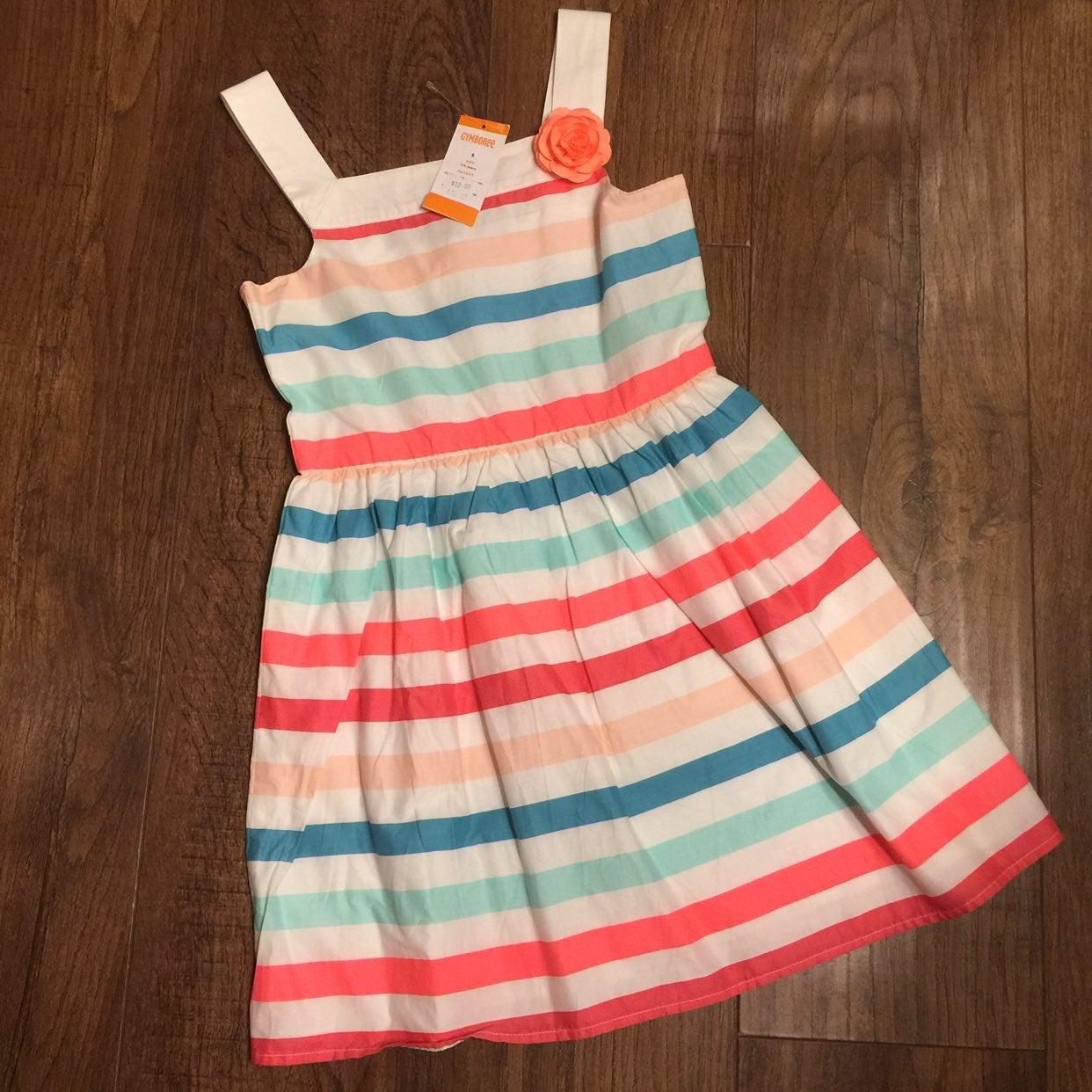NWT Girls Gymboree Dress 8