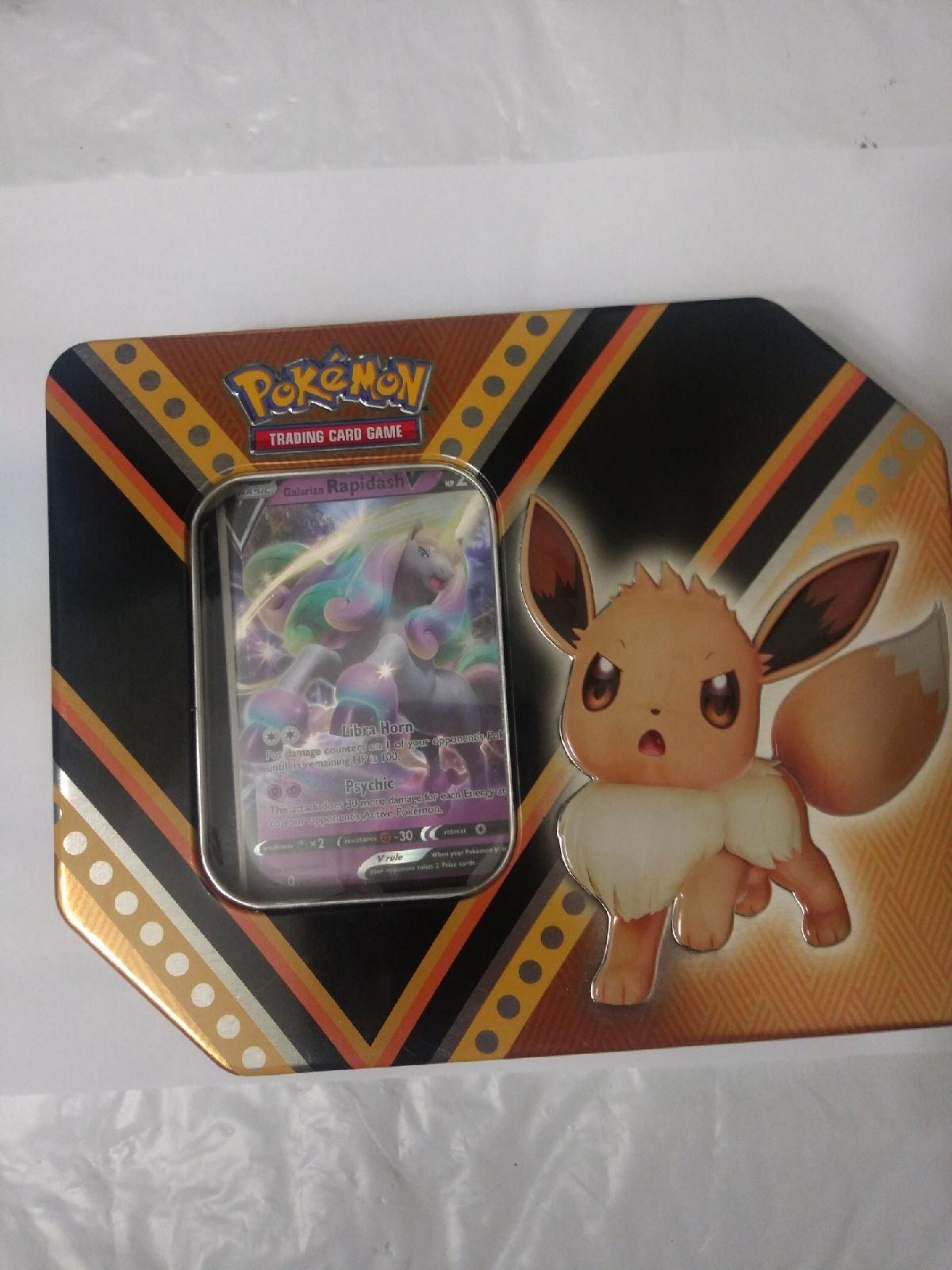Pokemon tins cards packs with bonus