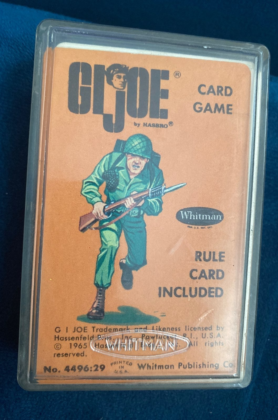 VINTAGE 1965 GIJOE G I JOE Card Game