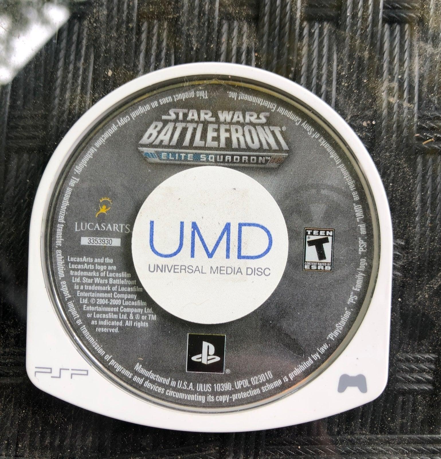 StarWars Battlefront Elite Squadron PSP