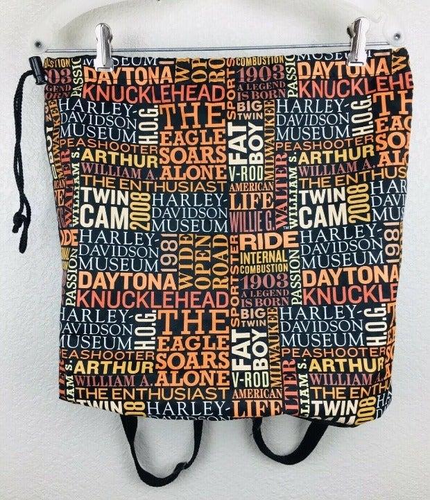 Harley-Davidson Museum Drawstring Bag