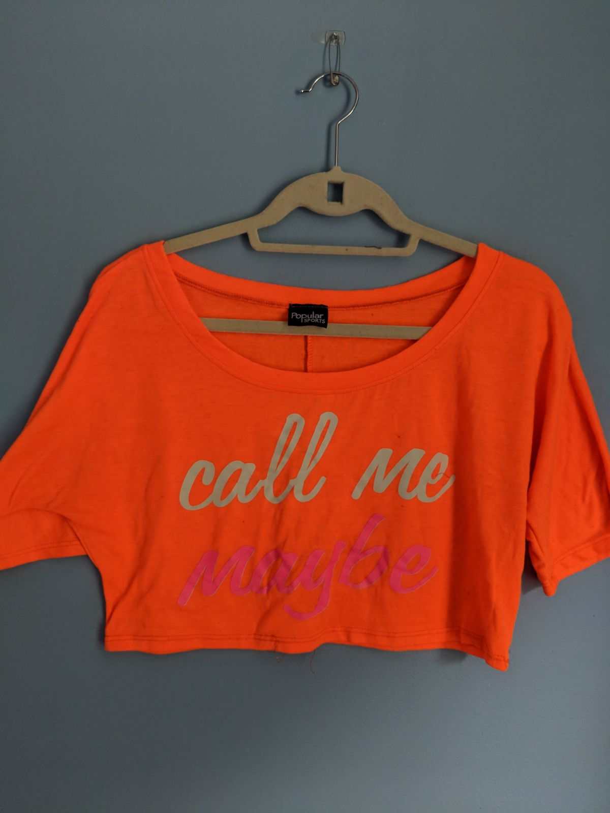 Call Me Maybe crop top