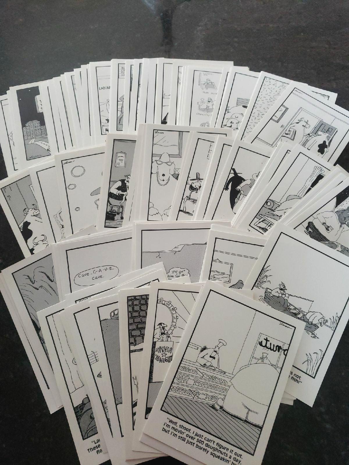 Postcards-Far Side LOT
