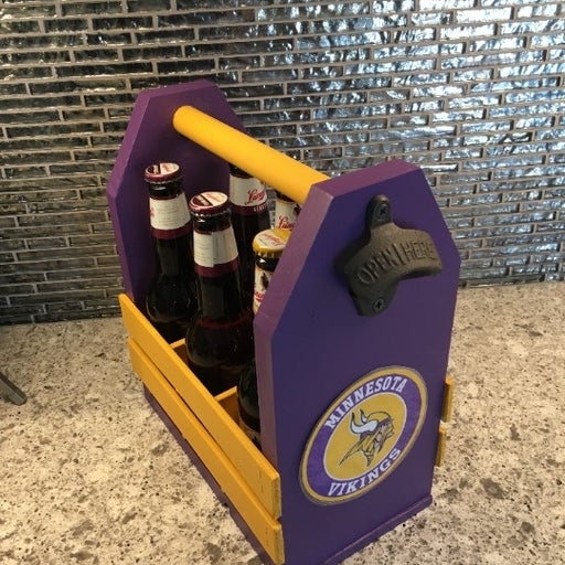 Minnesota Vikings Beer Caddy